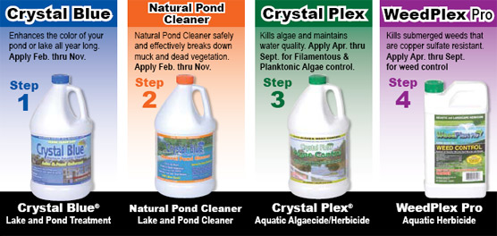 Crystal Blue Pond Care Products